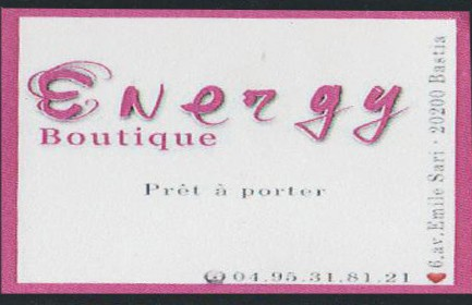 ENERGY BOUTIQUE